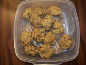 whole grain oatmeal cinnamon raisin cookies