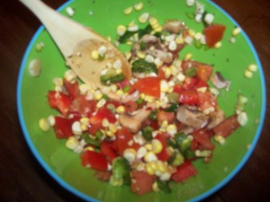 Sweet and Spicy Peppercorn Salsa