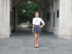 Me standing infront of the Kauke Archway