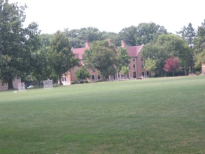 A picture of the quad
