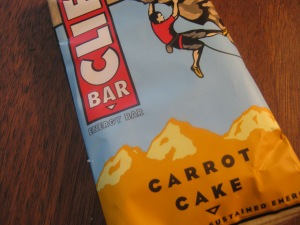 Cliff Bar - Carrot Cake